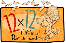 Badge for 12X12 challenge: 12 picture books in 12 months
