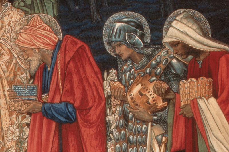 Three Kings Bowing