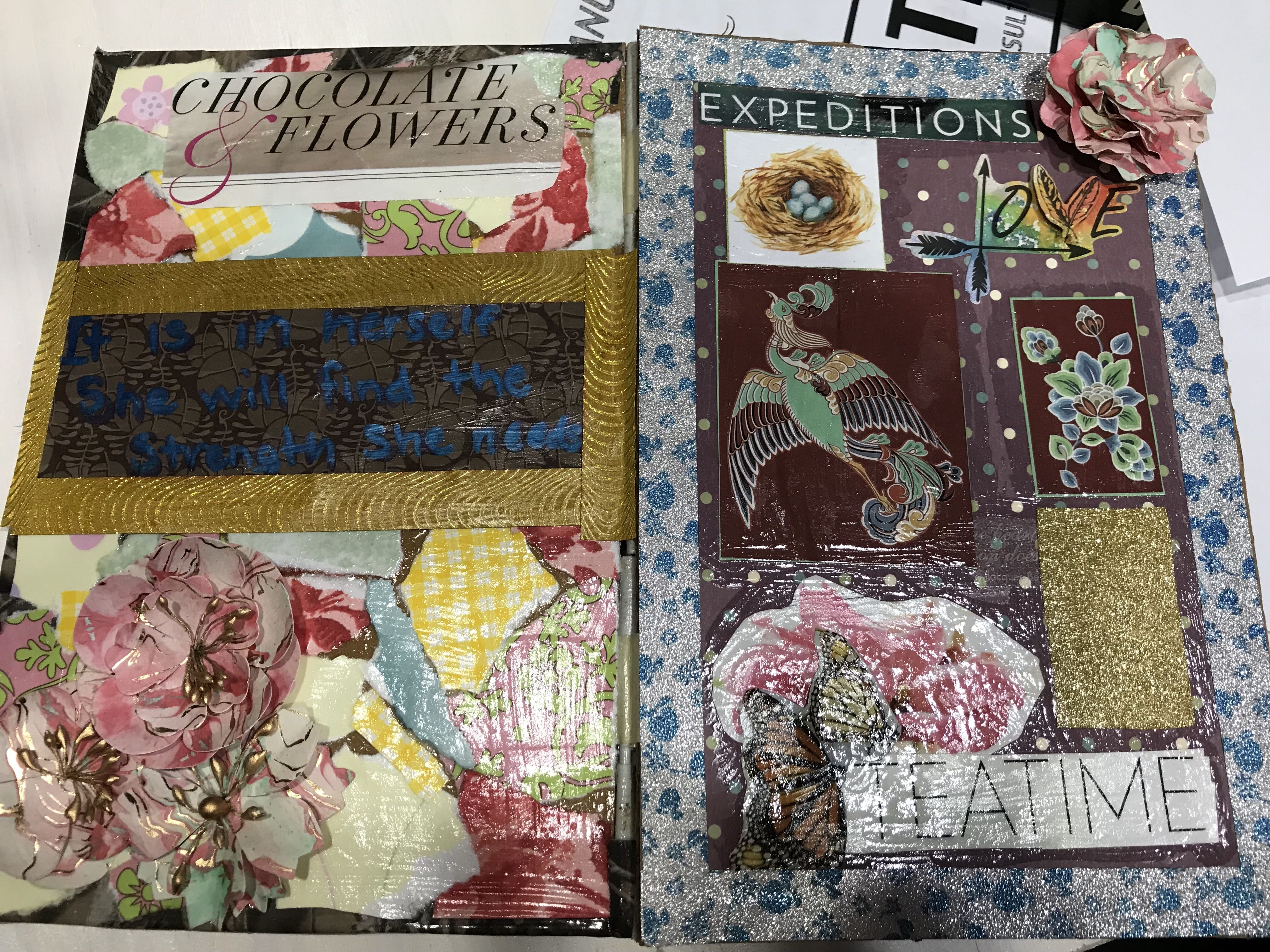 Collage pages